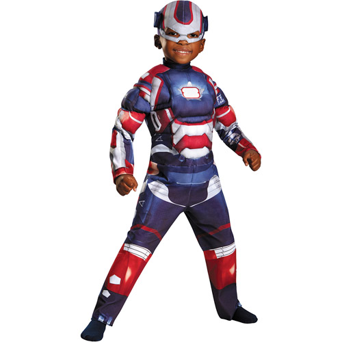 Halloween Iron Man 3 Iron Patriot Classic Toddler