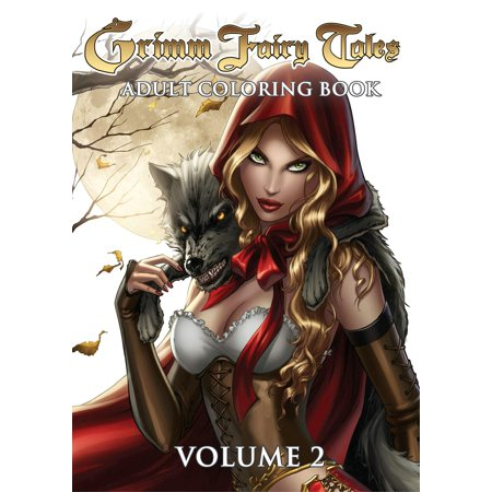 Grimm Fairy Tales Adult Coloring Book - Adult Furries