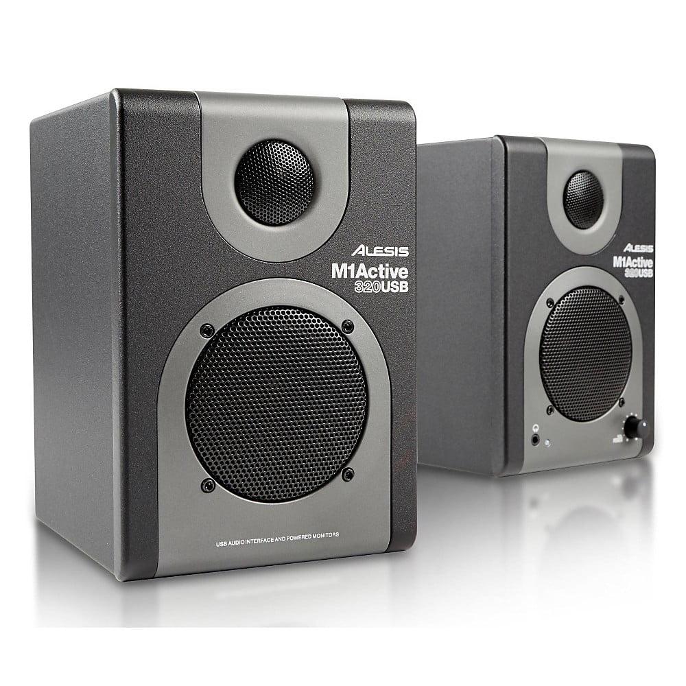 Alesis M1Active 320 USB Active Studio Monitors (Pair) by
