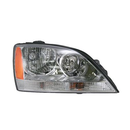 Replacement Depo 323-1113R-AS Passenger Side Headlight For 03-04 Kia -