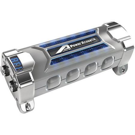 Charge 1 Farad Capacitor - Power Acoustik PCX-5F 5-Farad Digital Capacitor