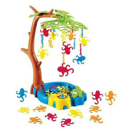 International Playthings Game Zone - Monkeying Around - A Balancing Game with Monkeys Hanging in a Tree for 2-4 Players Ages 4 and Up](Dollar Tree Halloween Game)