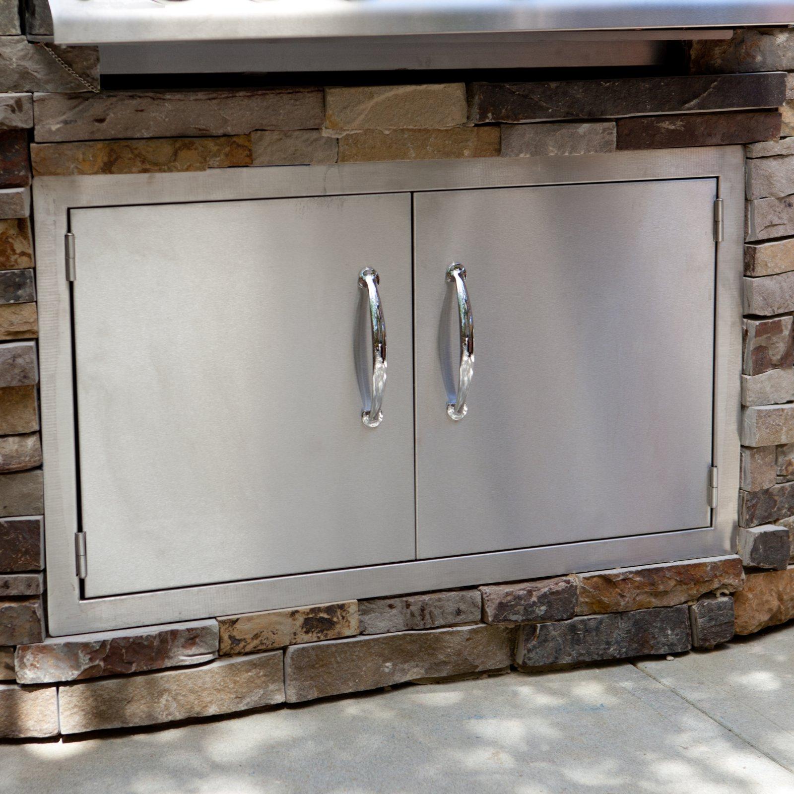 Sunstone Grills Classic Series Flush Double Access Doors