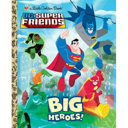 Big Heroes! (DC Super Friends) - eBook