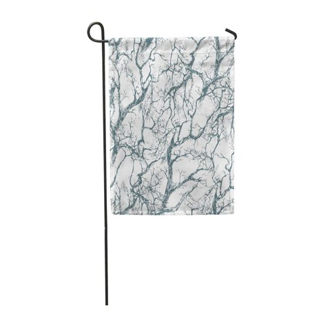 POGLIP Branch The Intersecting Branches of Trees Without Leaves Garden Flag Decorative Flag House Banner 28x40 inch - image 1 de 1