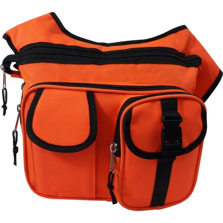 Every Day Carry Emergency/EMT Tactical Side Sling Messenger Bag - Orange