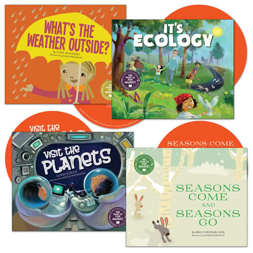 My First Science Songs CD Set (Set of 4)