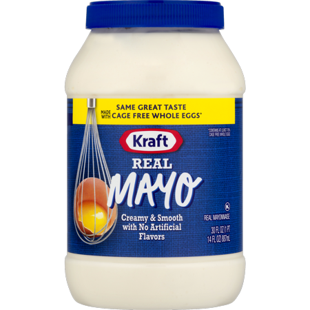 Kraft Mayo Real Mayonnaise  30 Fl Oz  Jar