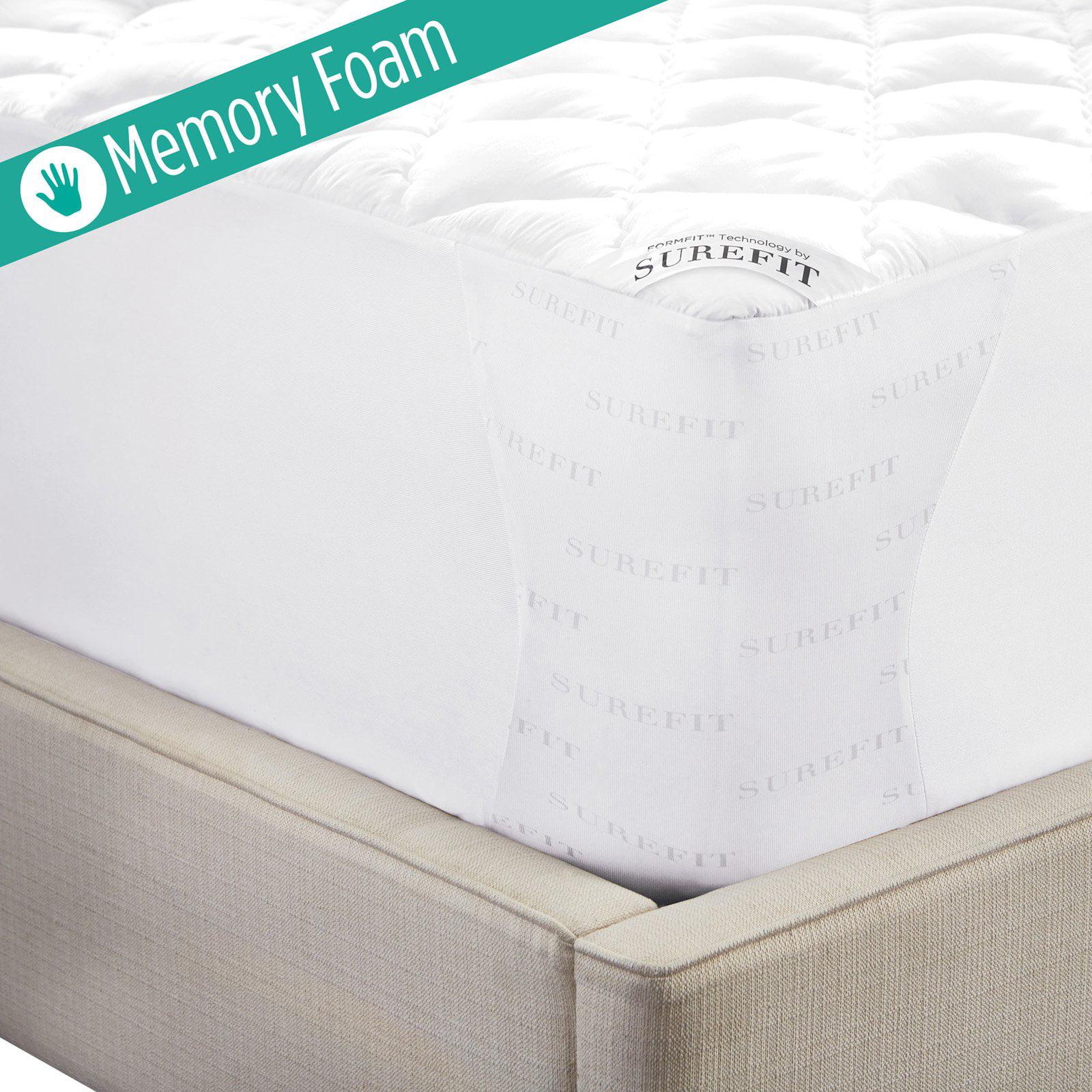 Sure Fit Memory Foam Mattress Pad