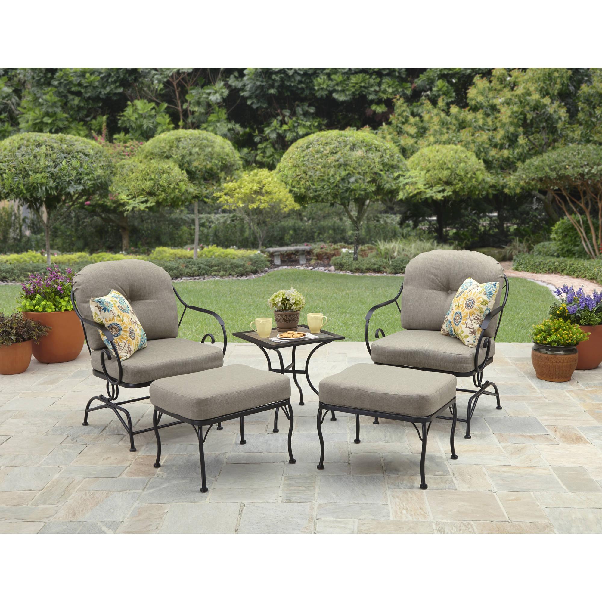 Better Homes and Gardens Myrtle Creek 5 Piece Outdoor Leisure Set