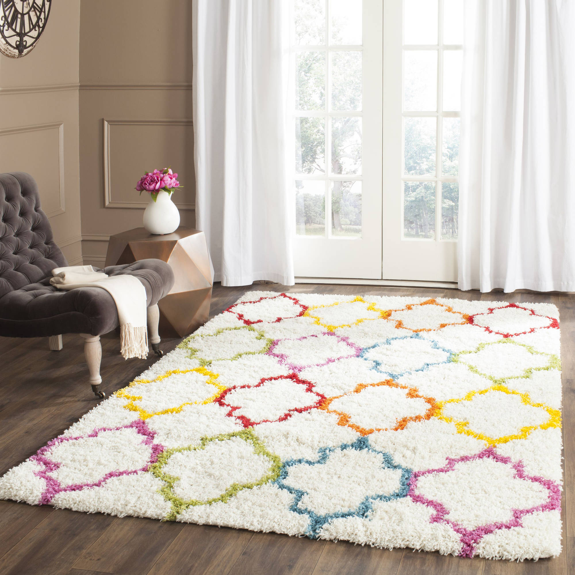 Safavieh Shag Kids Yadira Power Loomed Area Rug