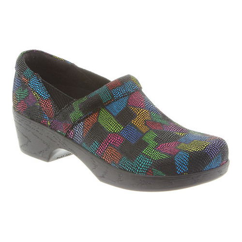 Klogs Footwear Women's Portland Shoe, Puzzle, 7 M