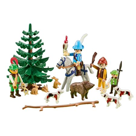 Playmobil Add On #6564 Alpine Outing Hunting Party - New Factory (Alpine Stores)