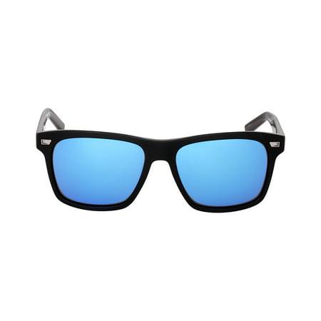 Costa Aransas Acetate Frame Blue Mirror Glass Lens Unisex Sunglasses (Costa Find A Store)