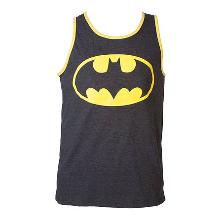Bioworld Super Hero Adult Reversible Tank Top - Batman, Superman Each Sold Separately (Large, Batman) - Superhero Tank Tops
