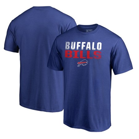 Buffalo Bills NFL Pro Line by Fanatics Branded Iconic Collection Fade Out T-Shirt - Royal - Buffalo Nfl