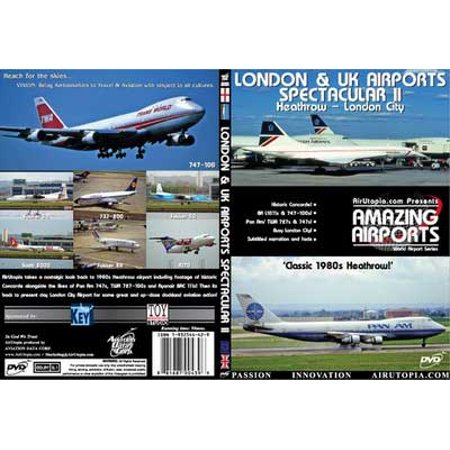 London And Uk Airports Spectacular Ii  Dvd