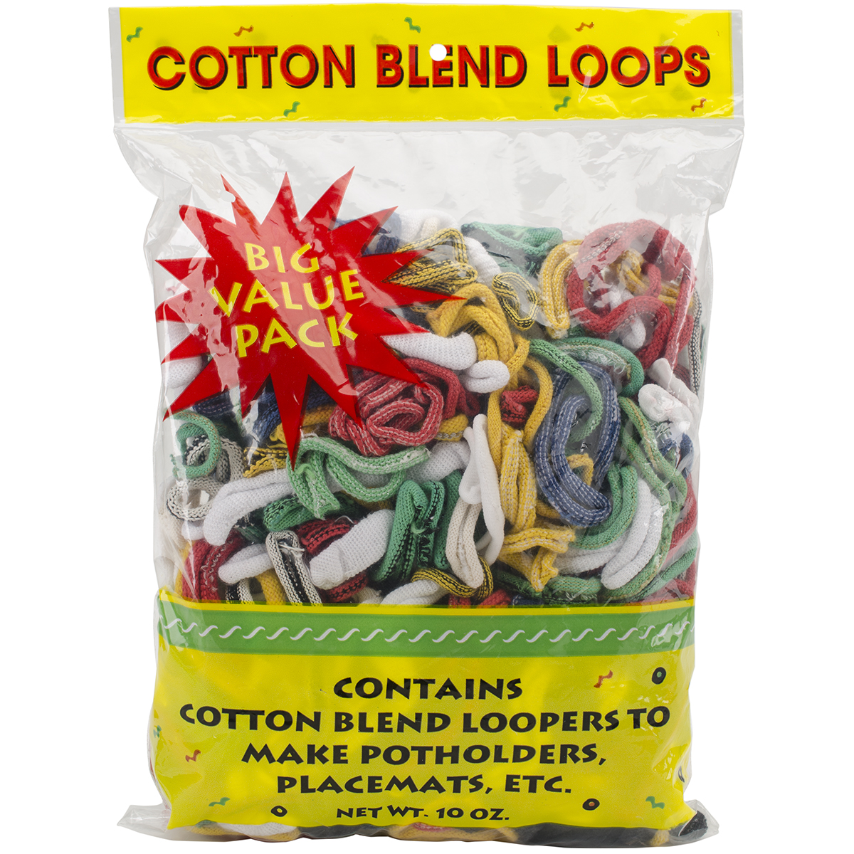 Cotton Blend Weaving Loops 10oz-Assorted