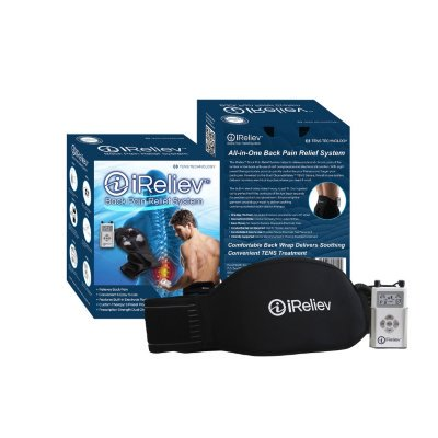 Ireliev Back Pain Relief System Tens Technology