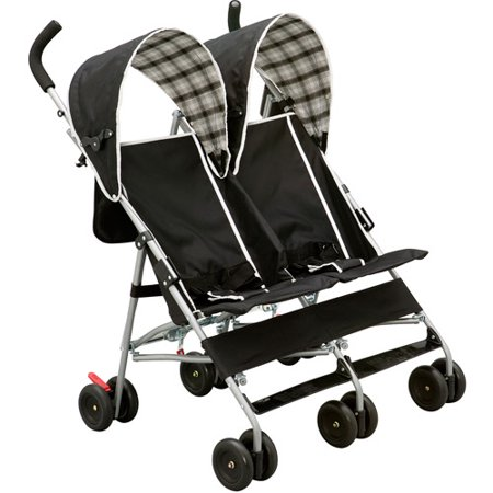 Delta Children's Products DX Double Side by Side Umbrella Stroller ...