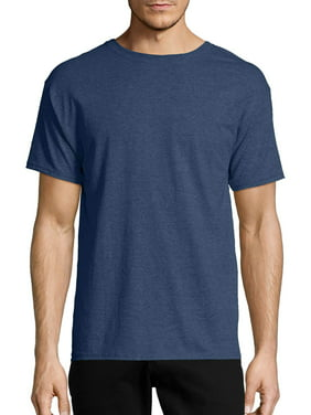 2b11e37d2226 Hanes Men's Ecosmart Soft Jersey Fabric Short Sleeve T-Shirt