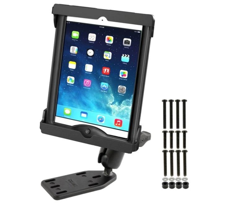 RAM Brake Clutch Cover Mount Fits Apple iPad Air 1 2 in L...