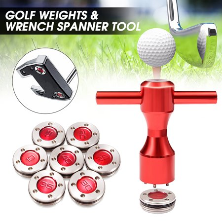 Grtxinshu 2x 30-35g Golf Custom Weights + Red Wrench For Titleist Scotty  Cameron Putters