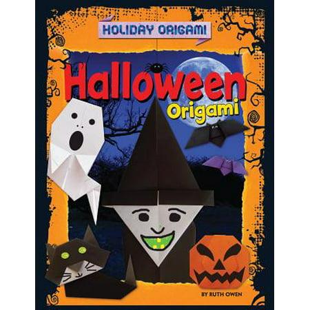 Origami Halloween Basket (Halloween Origami)