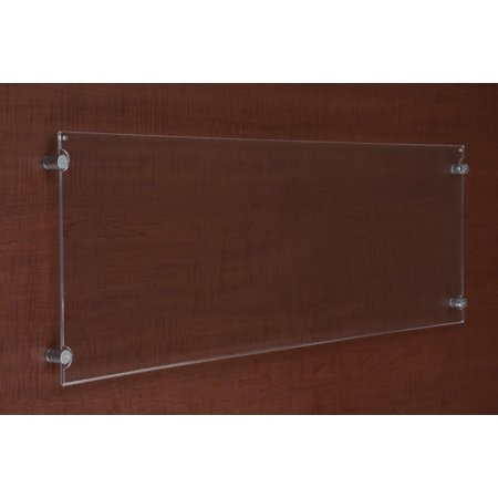Acrylic Sign Holder For Panoramic 40 X 135 Prints Wall Mounted
