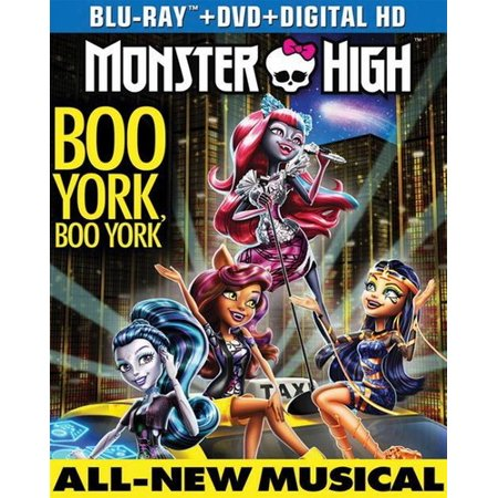 Monster High  Boo York  Boo York  Blu Ray   Dvd   Digital Copy