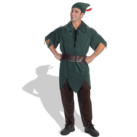 Peter pan classic adult halloween costume One Size](Gay Peter Pan Costume)