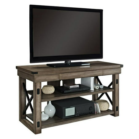 Altra Furniture Wildwood Tv Stand   Rustic Gray