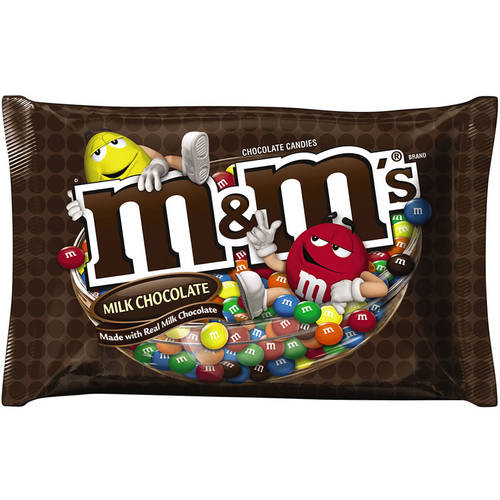 M&M's, Milk Chocolate Candy, 19.2 Oz