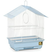 Prevue Pet Products House Style Economy Bird Cage, Blue, 31996