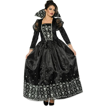 Dark Queen Women's Adult Halloween Costume - Princess And Queen Halloween Costumes