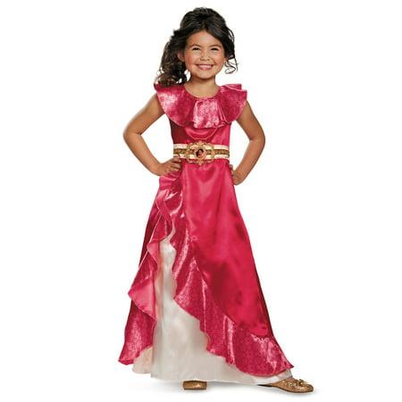 Elena of Avalor: Elena Adventure Dress Classic Child Costume - Halloween Fantasia Homem