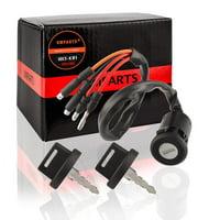 (T3K) Ignition Key Switch for Honda 300 TRX300 TRX300FW Fourtrax ATV 1990 1991 1992 1993 1994 1995 1996 1997 1998 1999 2000