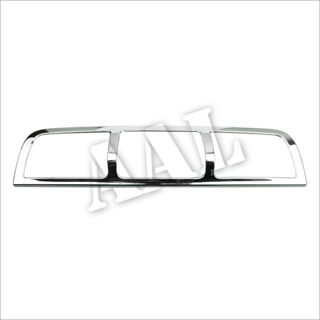 AAL Premium Chrome Cover For Dodge 2009 2010 2011 2012 2013 2014 2015 Ram Third Brake Tail Light Chrome Cover (Flareside Chrome Tail Light Cover)