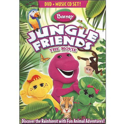 Barney: Jungle Friends dvd by