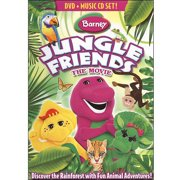 Barney: Jungle Friends dvd by