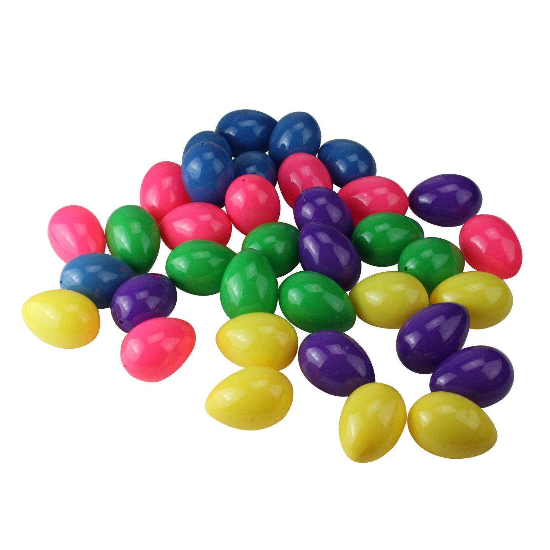 "Northlight 36ct Springtime Easter Egg Decorations 2.5"" - Pastel"