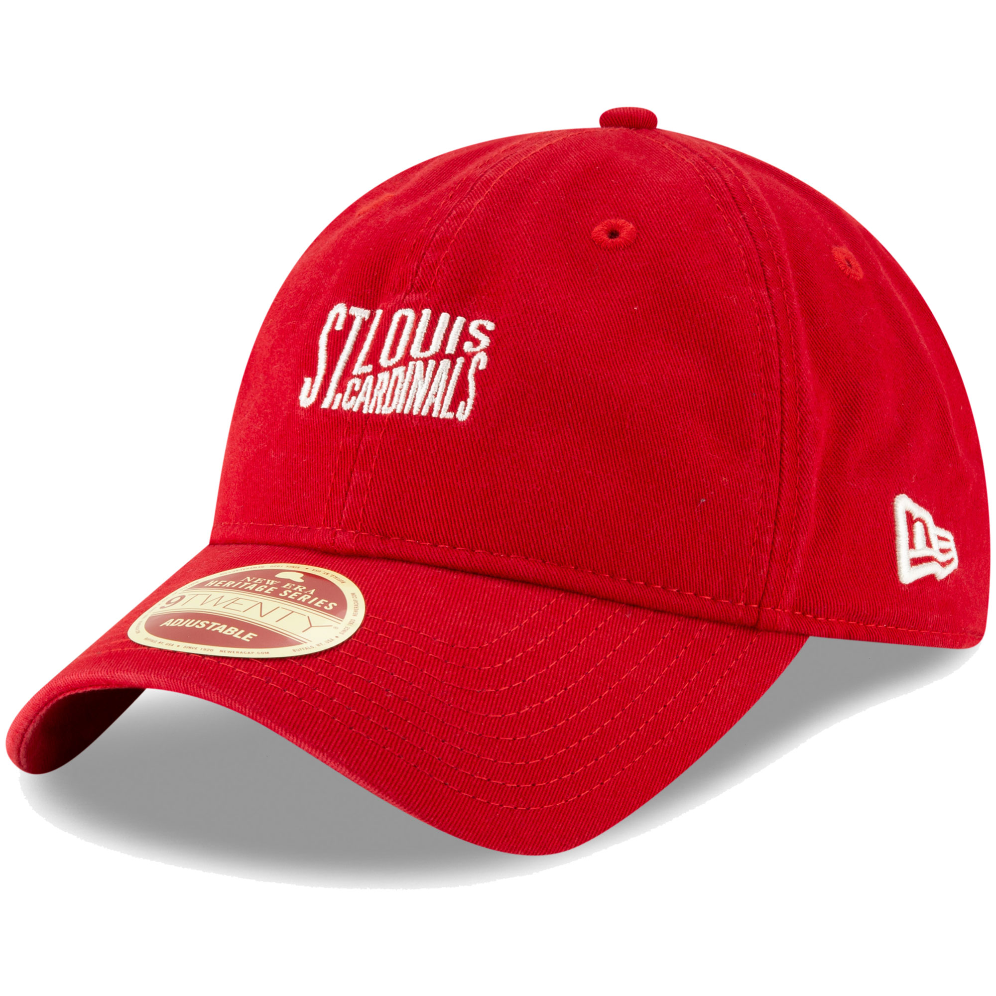 St. Louis Cardinals New Era Cooperstown Collection Classic Front 9TWENTY Adjustable Hat - Red - OSFA