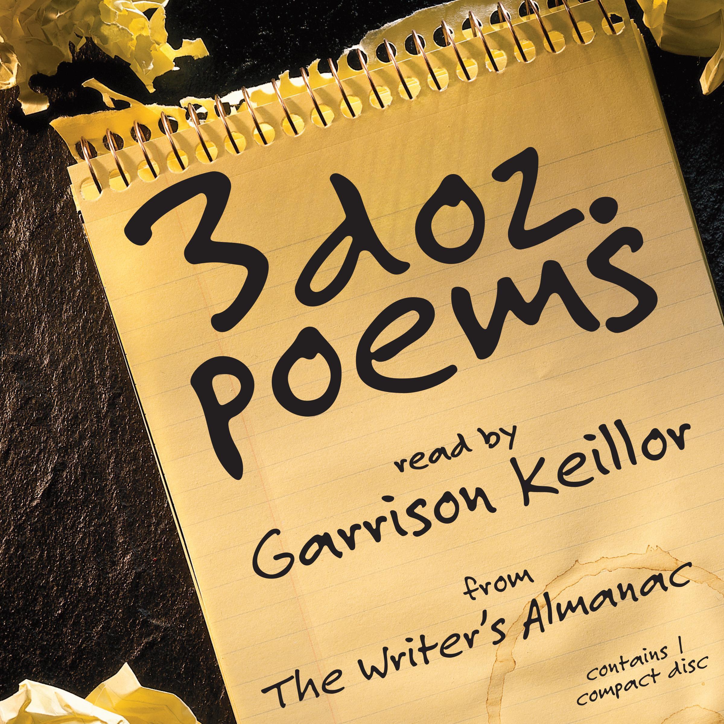3 Dozen Poems : From the Writer's Almanac