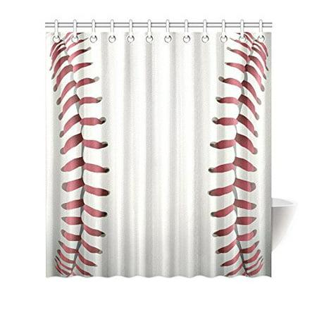 Funny Sports Waterproof Shower Curtain