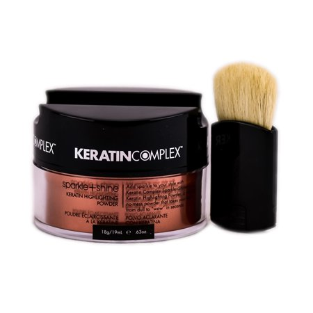 Keratin Complex Fashion Therapy Sparkle + Shine Keratin Highlighting Powder (Color : Copper / 0.63 (Shine Therapy Refill)