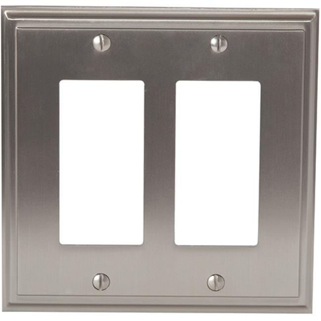 Amerock A36519 G10 2 Rocker Wall Plate, Satin Nickel - image 1 of 1