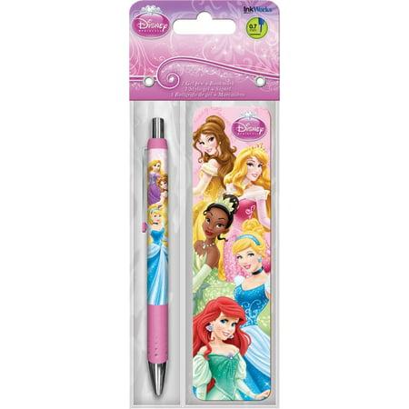 Gel Pen + Bookmark - Disney Princess - Packs Toys Gifts Set New iw3527