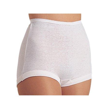 9136e1b7ffaa TERI LINGERIE COMPANY LLC - Women's Cuff Leg Comfort Band Women's 100% Cotton  Briefs - Pack of 6 - White - Walmart.com