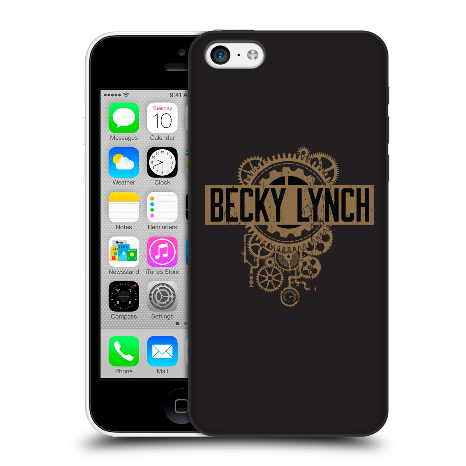 OFFICIAL WWE BECKY LYNCH HARD BACK CASE FOR APPLE IPHONE PHONES