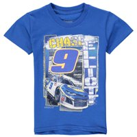 692a44b26b Product Image Chase Elliott Checkered Flag Youth Front Runner T-Shirt -  Royal